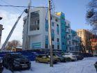 Ход строительства дома №1 в ЖК Премиум - фото 81, Январь 2018