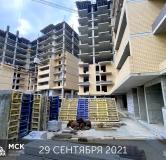 Ход строительства дома Литер 2 в ЖК Грин Парк -