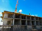 Ход строительства дома Литер 6 в ЖК Южный Берег - фото 19, Октябрь 2019
