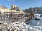 Ход строительства дома № 1 в ЖК Корица - фото 63, Февраль 2021