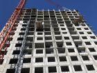 Ход строительства дома № 2 в ЖК Подкова на Родионова - фото 20, Апрель 2021