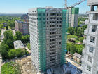 Ход строительства дома № 1 второй пусковой комплекс в ЖК Маяковский Парк - фото 22, Июнь 2021