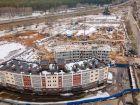 Ход строительства дома № 3 в ЖК Ватсон - фото 6, Апрель 2021