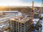 Ход строительства дома № 1 первый пусковой комплекс в ЖК Маяковский Парк - фото 64, Декабрь 2020
