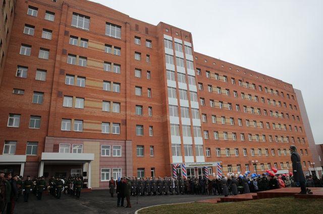 Корпус нового госпиталя открыли для военных в Ростове-на-Дону