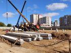 Ход строительства дома № 1 в ЖК Корица - фото 102, Сентябрь 2020