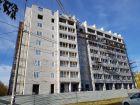 Ход строительства дома № 2 в ЖК АВИА - фото 32, Октябрь 2020
