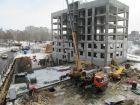 Ход строительства дома № 3 в ЖК Солнечный - фото 18, Апрель 2018