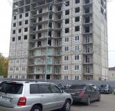 Ход строительства дома № 1 в ЖК Огни Автозавода -