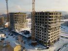 Ход строительства дома № 1 второй пусковой комплекс в ЖК Маяковский Парк - фото 48, Февраль 2021
