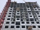 Ход строительства дома № 2 в ЖК Подкова на Родионова - фото 32, Март 2021