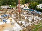 Ход строительства дома № 1 первый пусковой комплекс в ЖК Маяковский Парк - фото 99, Август 2020