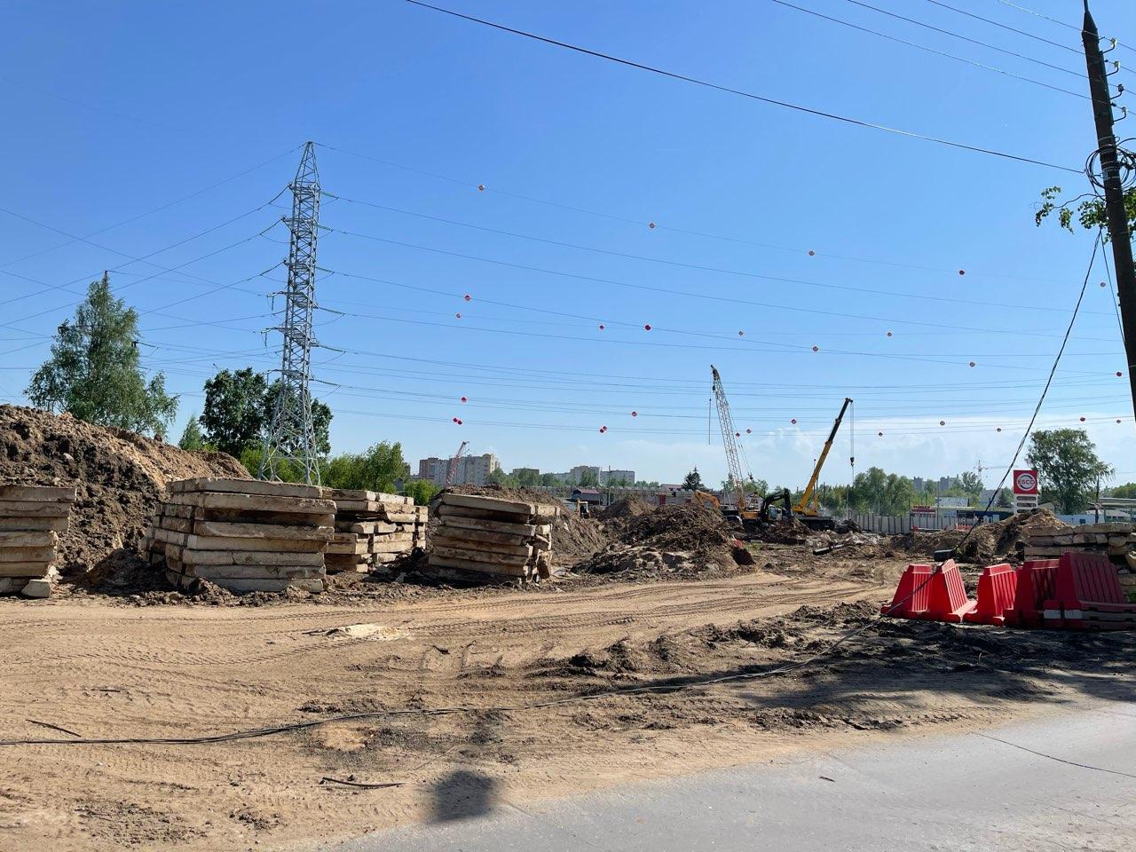 Развязка на улице Циолковского в Нижнем Новгороде готова на 53% - фото 1