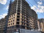 Ход строительства дома Литер 2 в ЖК Династия - фото 27, Октябрь 2019
