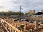 Ход строительства дома № 3 в ЖК Квартет - фото 61, Октябрь 2020