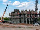 Ход строительства дома № 21 в ЖК КМ Анкудиновский парк - фото 4, Август 2021